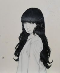 Remind by Yu Kawashima contemporary artwork painting, works on paper, drawing