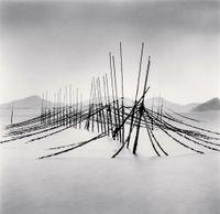 Aquaculture Structure, Boseong, Jeollanam-do, South Korea by Michael Kenna contemporary artwork print