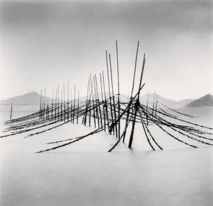 Aquaculture Structure, Boseong, Jeollanam-do, South Korea by Michael Kenna contemporary artwork