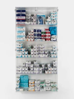 Something Must Break by Damien Hirst contemporary artwork