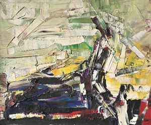 P.M. 15 by Jean-Paul Riopelle contemporary artwork