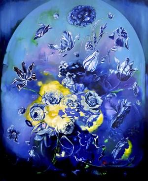 Midnight Garden by Monika Behrens contemporary artwork