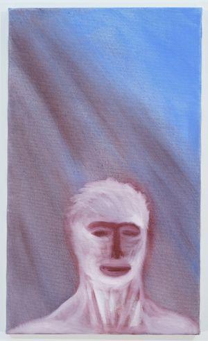 10 min. nachdenken by Miriam Cahn contemporary artwork painting