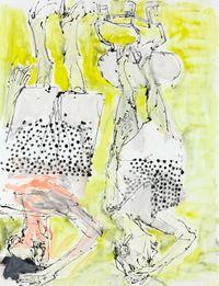 Seid bereit zum Kubismus by Georg Baselitz contemporary artwork painting