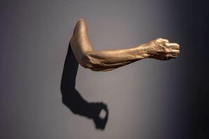 At Arms Length, Grip by Julie Rrap contemporary artwork