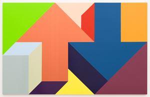 Arrow Painting 69 by Tony Tasset contemporary artwork