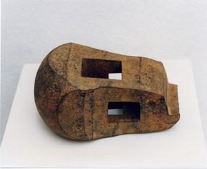 Saludo a Brancusi – Homenaje a Brancusi  (Salute to Brancusi – Homage to Brancusi) by Eduardo Chillida contemporary artwork