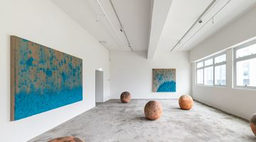 Contemporary art exhibition, Bosco Sodi, A Thousand Li of Rivers and Mountains at Axel Vervoordt Gallery, Hong Kong