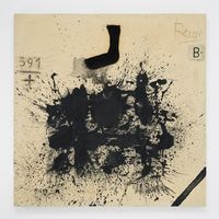 391 by Antoni Tàpies contemporary artwork works on paper, mixed media