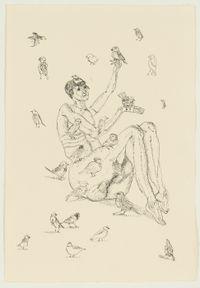 Wereldverzakers by Bram Demunter contemporary artwork works on paper