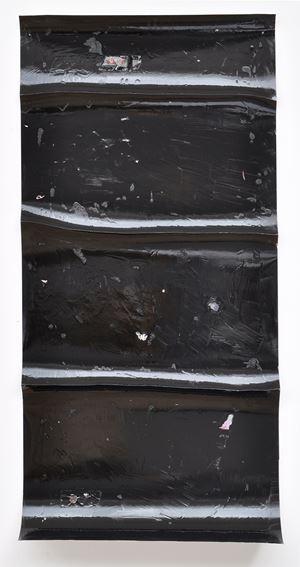 schwarzwasser #5 by Harald Kröner contemporary artwork painting, works on paper