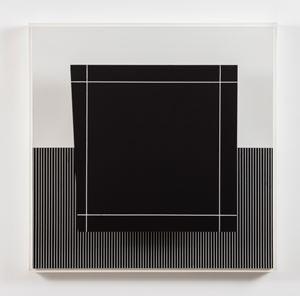 Cuadrado virtual by Jesús Rafael Soto contemporary artwork