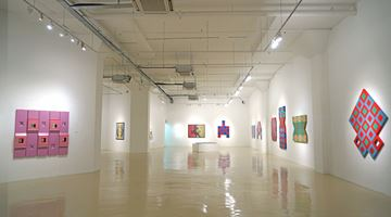 Contemporary art exhibition, Choong Kam Kow, The Shape of Things: Conceptual Configurations at Gajah Gallery, Singapore
