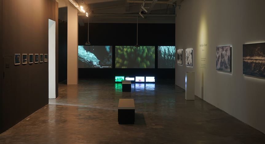 Exhibition view: Feng Bingyi,She Walks in Beauty,A Thousand Plateaus Art Space, Chengdu (19 September–31 October 2020). Courtesy A Thousand Plateaus Art Space.