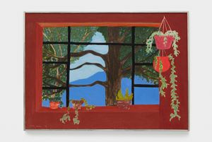 Bearsville Window by March Avery contemporary artwork painting