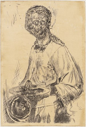Study for Il Traviatore by Pietro Roccasalva contemporary artwork