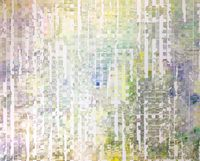 trace the ridgeline by Shiori Tono contemporary artwork painting, works on paper