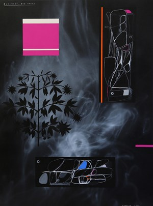 Old Plant, New Smoke by Shane Cotton contemporary artwork