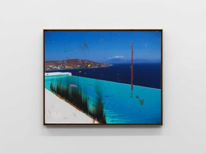 Untitled (Swimming pool) by Harold Ancart contemporary artwork