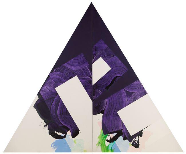 Plum Nellie Split, November Reason #2 by Robert Reed contemporary artwork