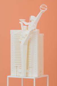 Guangzhou Telecom Building by Cui Jie contemporary artwork sculpture