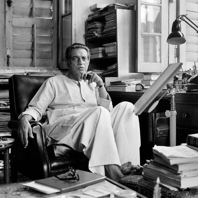 Sathajit Ray, Calcutta by Rosalind Fox Solomon contemporary artwork