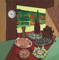 Still Life: Maroochydore by Patrick Caulfield contemporary artwork painting