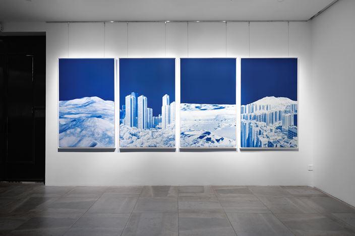 Exhibition view: Hugo Deverchère,The Far Side,Galerie Dumonteil, Shanghai (11 September–10 October 2020) Courtesy Galerie Dumonteil.