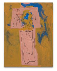 {Totem}Alternative Titles: Zig-Zag; AmericanTotem; American Indian Totem by Robert Motherwell contemporary artwork mixed media