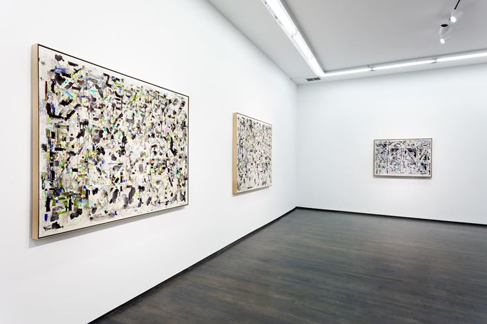 Exhibition view: Young-Il Ahn, Washington Blvd, Chicago (22 January–13 March 2021). Courtesy Kavi Gupta.