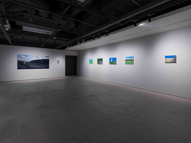 Exhibition view: Naoya Inose, Romantic Depression, The Club, Tokyo (14 March–9 May 2020). Courtesy The Club.