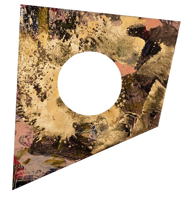 Vollmond by Adrian Schiess contemporary artwork