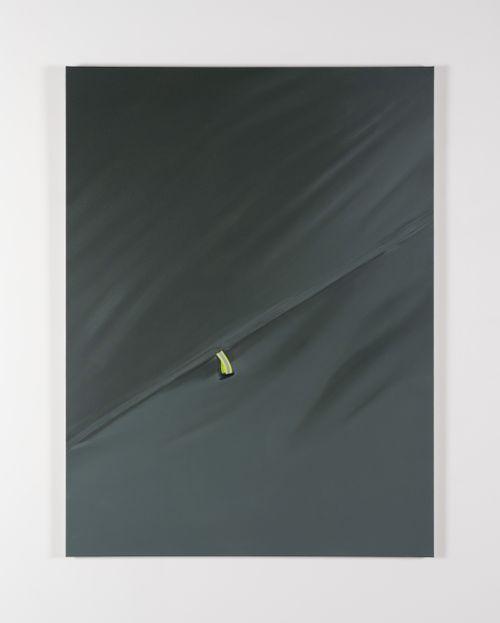 Grey, yellow by Marcel Vidal contemporary artwork
