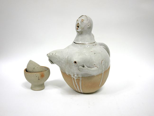 Breast Milk Pot Set 2 by Juae Park contemporary artwork