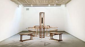 Qaudri - Bench Press by Aaron Bezzina contemporary artwork