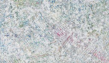 Sam Gilliam Shows 'Garden Rake' Paintings in Seoul