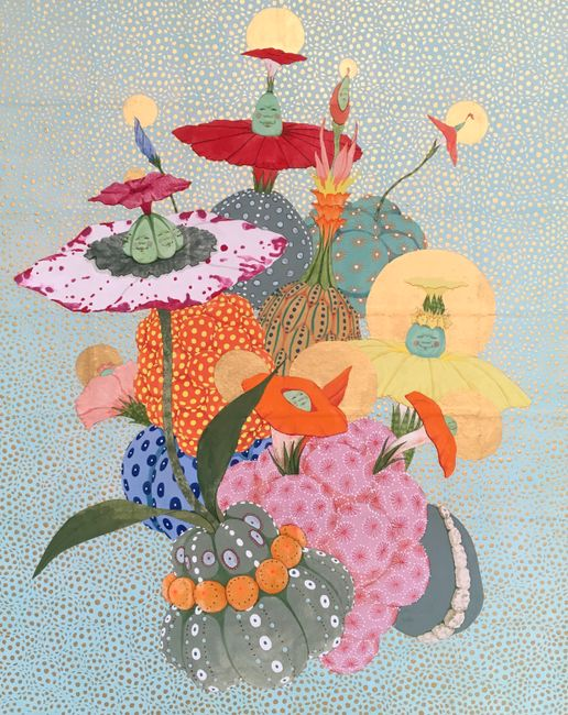 Origin of desire - Alegría - by Mari Ito contemporary artwork