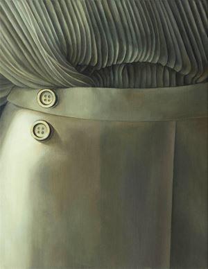 Two Buttons by Lia Kazakou contemporary artwork