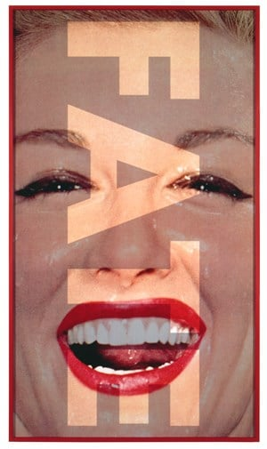 Untitled (FATE) by Barbara Kruger contemporary artwork