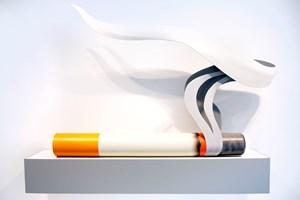 Smoking Cigarette #1 by Tom Wesselmann contemporary artwork