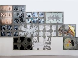 "Julia Morison<br><em>Omnium Gatherum</em><br><span class=""oc-gallery"">Bartley & Company Art</span>"