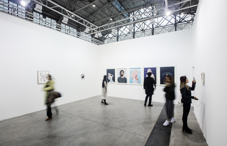 Exhibition view, Gladstone Gallery at The Shanghai West Bund Art & Design Fair, 2016. Image courtesy West Bund Art & Design Fair.