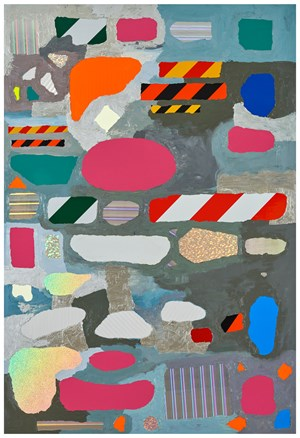 ZONES (Parking)  #1 區塊(停車場)#1 by Teppei Kaneuji contemporary artwork