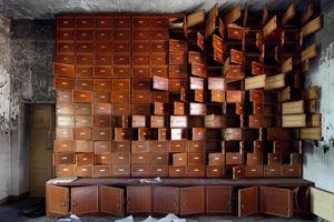 The Unburnt Library by Henk Van Rensbergen contemporary artwork