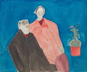 Two Poets by Milton Avery contemporary artwork painting