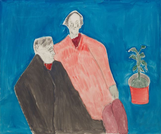 Two Poets by Milton Avery contemporary artwork
