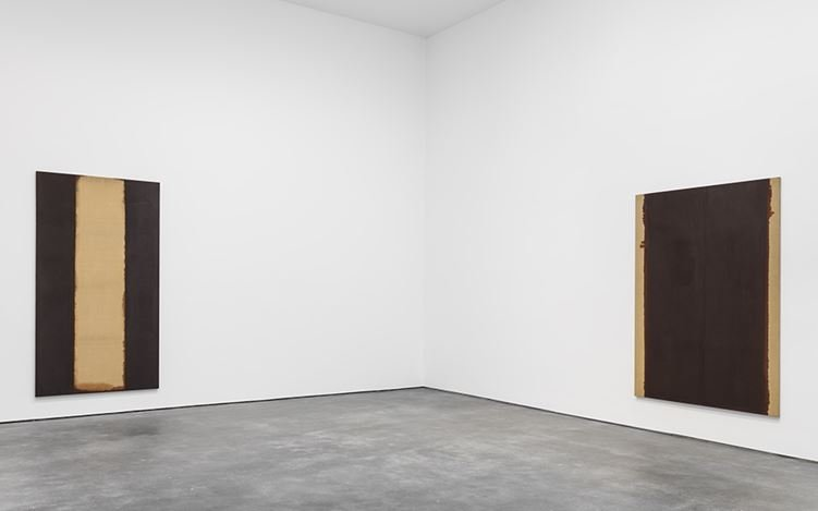 Exhibition view: Hyong-keun Yun, Solo Exhibition,David Zwirner, 20th Street, New York (14 January–18 February 2017). Courtesy PKM Gallery, Seoul andDavid Zwirner, New York/London.