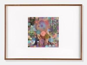 Labrador Poodle III by Hilary Lloyd contemporary artwork