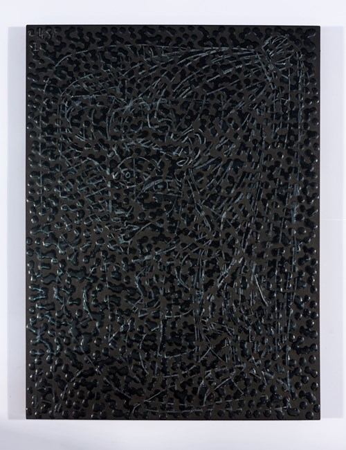 Untitled (PSWN) by Daniel Boyd contemporary artwork
