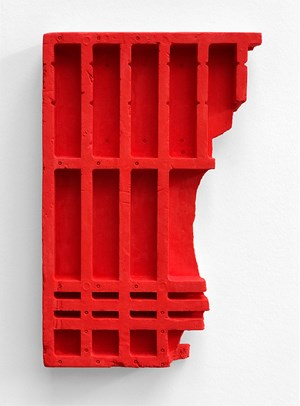 Red Relief by Mike Meiré contemporary artwork